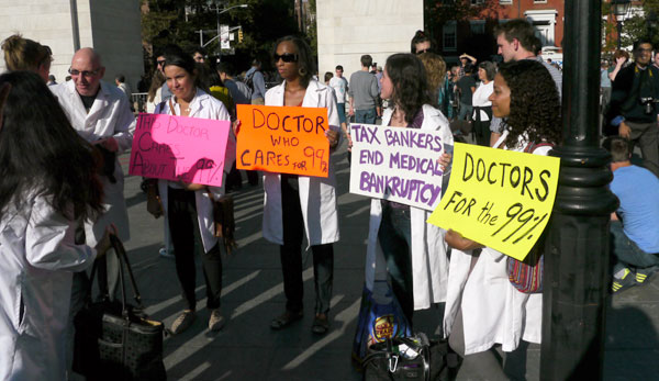 doctors for the 99%