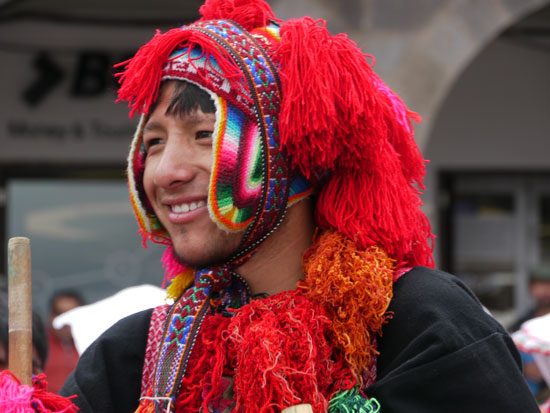 celebrant at Cusco