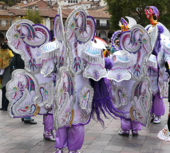 Costumes in Cusco