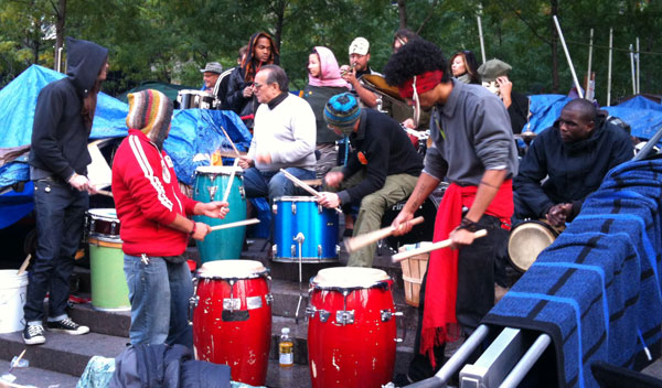 drummers on the west side